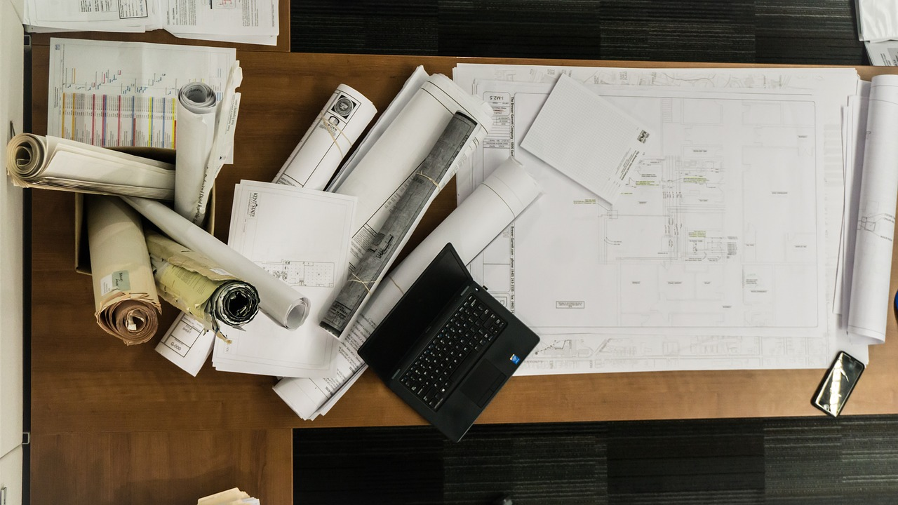 Architekturbüro - Baupläne