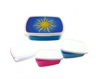 Brotdosen Kunststoff verschiedene Farben
