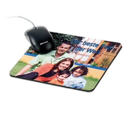 Textil-Mousepad 230 x 190 x 5 mm bedruckt Familie