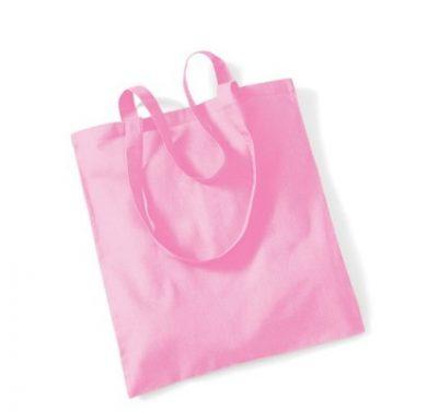 Bag for Life Einkaufstasche unbedruckt Pink
