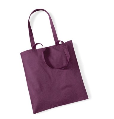 Bag for Life Einkaufstasche unbedruckt Bordeaux
