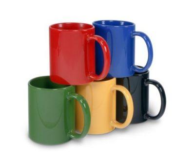 Keramiktasse LENA verschiedene Farben