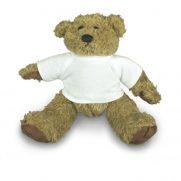 Teddybär Barney mit T-Shirt unbedruckt