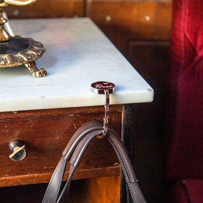 Handtaschenhalter Rund am Tisch