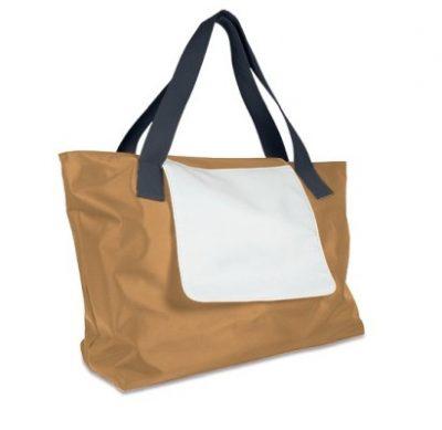 Shopping Bag LONDON Beige unbedruckt