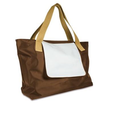 Shopping Bag LONDON Braun unbedruckt