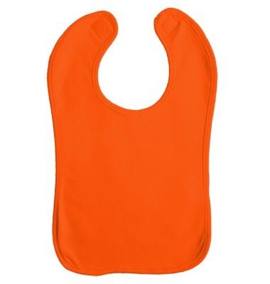 Babylätzchen Double Layer Orange/Orange