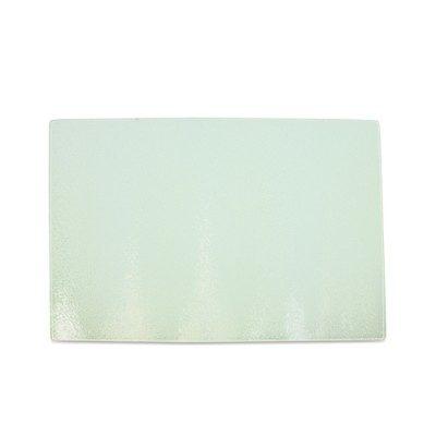 Glas-Schneidebrett, Größe 285 x 390 x 4 mm unbedruckt