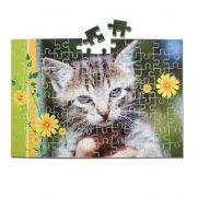 Kartonpuzzle rahmenlos A§ 384 Teile Katze