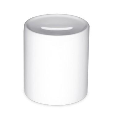 Spardose Farbe Weiß unbedruckt