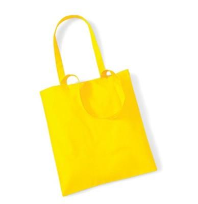 Bag for Life Einkaufstasche unbedruckt Gelb
