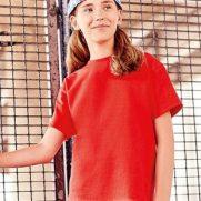 Kids Silver Label T-Shirt Rot, Mädchen